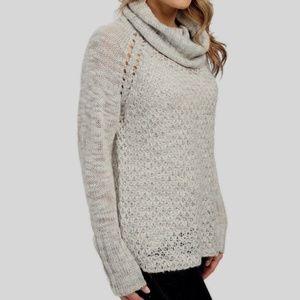 Sanctuary  Open knit Tunic Sweater M